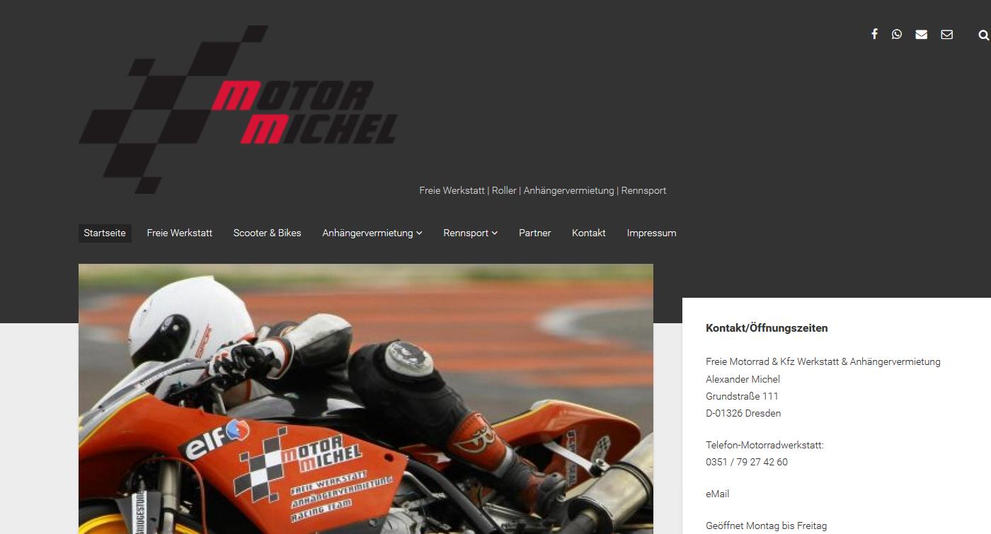 Wieder eine neue Homepage – Total-Michel.com