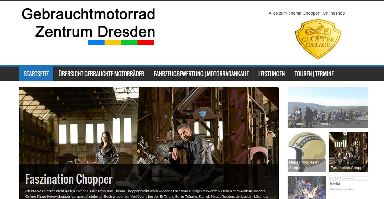 Und wieder eine Homepage erneuert
