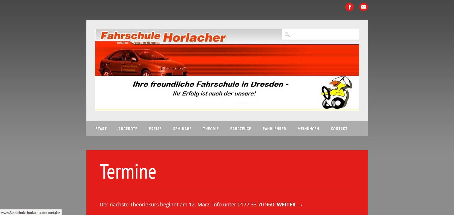 Die Fahrschule Horlacher aus Dresden…
